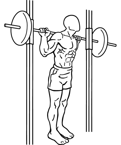 how to do Smith machine squats